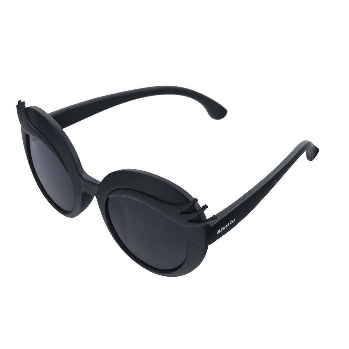 d7679156b Óculos de Sol Khatto Infantil Charmy - Preto   Netshoes