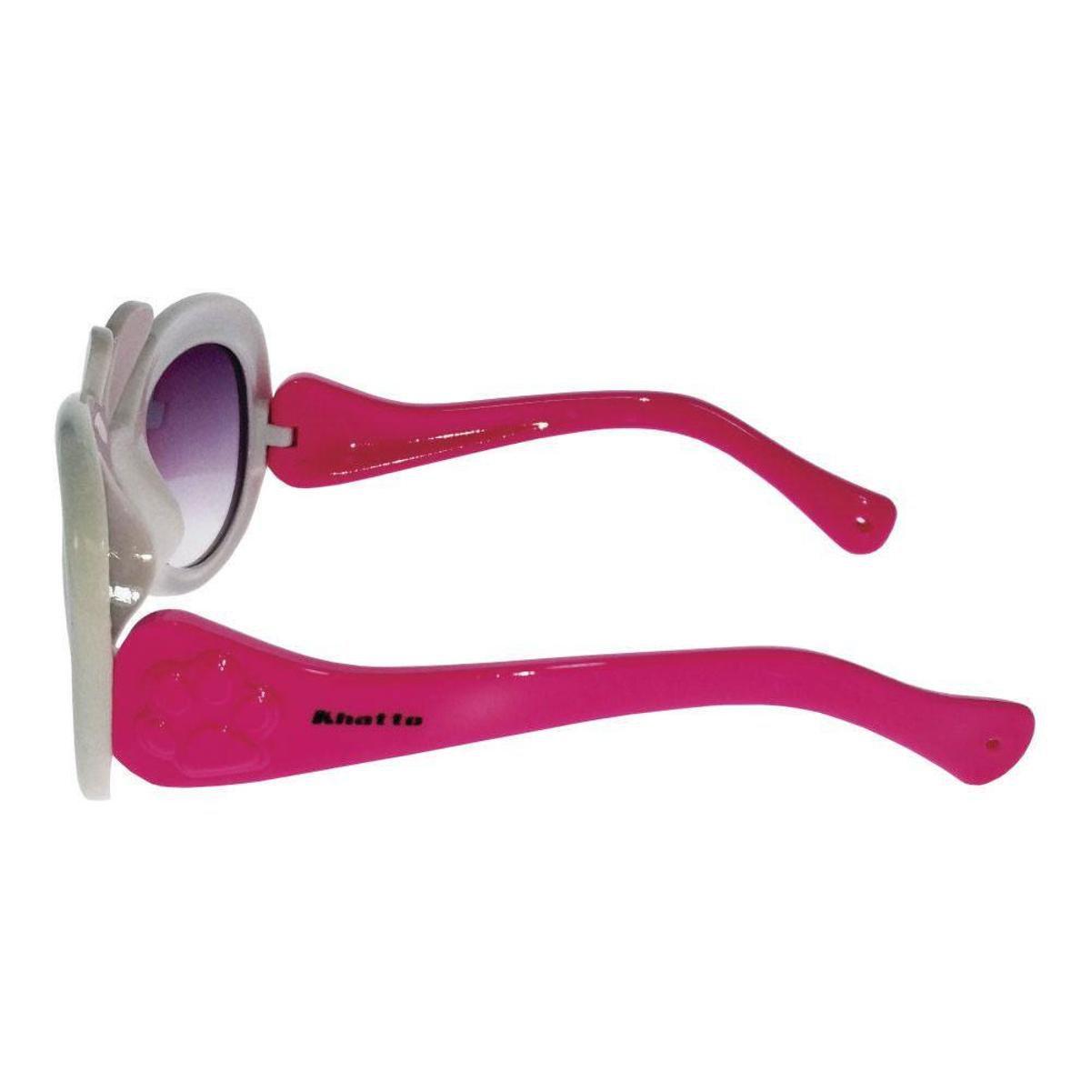 efcdfe376f0cd Óculos de Sol Khatto Infantil Rabbit Feminino - Compre Agora   Netshoes