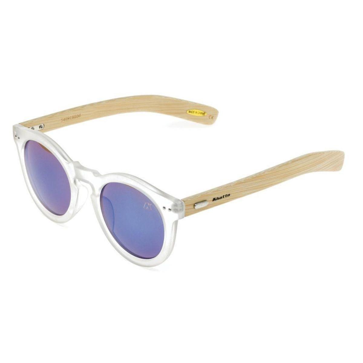 Óculos de Sol Khatto Round Bamboo - Compre Agora   Netshoes da662fe9d4