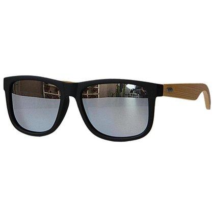 Óculos de Sol Khatto Square Bambu Wave - C078
