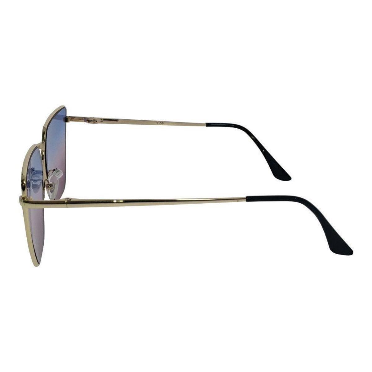 Óculos de Sol Khatto Sun Feminino - Azul e Roxo - Compre Agora ... 7f62744b6f