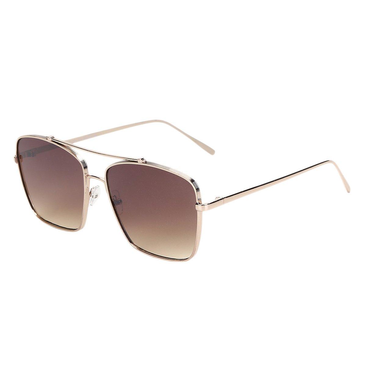 9b7f5b3ab1626 Óculos de Sol King One A57 Masculino - Marrom - Compre Agora
