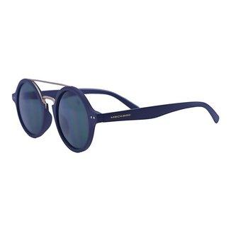 Óculos de Sol Mackage Acetato Redondo - Preto