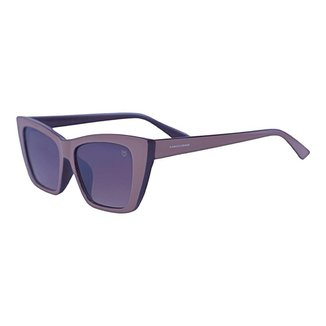 Óculos de Sol Mackage Feminino Acetato Gateado - Bege
