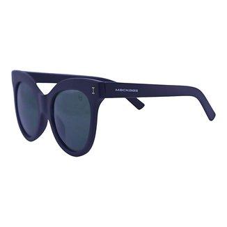 Óculos de Sol Mackage Feminino Acetato Oversize Gateado - Preto