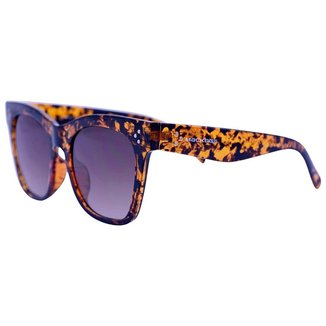 Óculos De Sol Mackage Feminino Acetato Oversize Quadrado Retro - Tarta