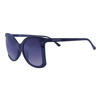 Óculos de Sol Mackage Feminino Acetato/metal Butterfly - Preto/dourado