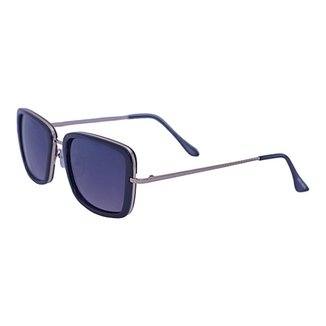 Óculos de Sol Mackage Feminino Metal/acetato Quadrado - Dourado/preto