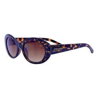 Óculos De Sol Mackage Feminino Oval Retro - Tartaruga
