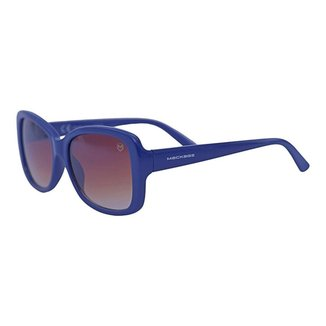 Óculos de Sol Mackage Feminino Retangular Retro - Azul