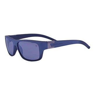 Óculos de Sol Mackage Masculino Acetato Curvado Esporte - Cinza