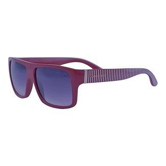 Óculos de Sol Mackage Masculino Acetato Retaungular Esportivo - Vinho
