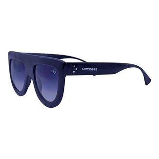 Óculos de Sol Mackage Unissex Acetato Fashion - Preto