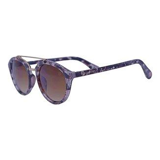 Óculos de Sol Mackage Unissex Acetato Oval - Tartaruga