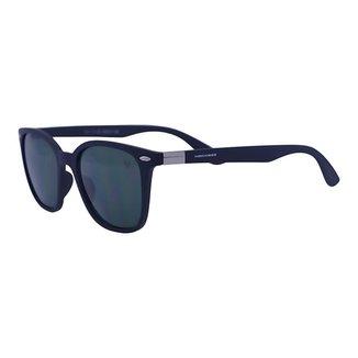 Óculos de Sol Mackage Unissex Acetato Wayfarer - Preto Fosco