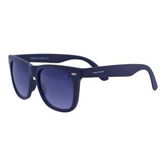 Óculos de Sol Mackage Unissex Acetato Wayfarer - Preto