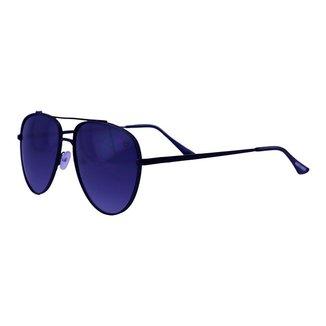 Óculos De Sol Mackage Unissex Metal Aviador Over - Preto