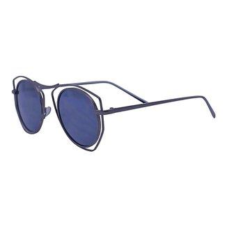 Óculos de Sol Mackage Unissex Metal Geometrico - Grafite