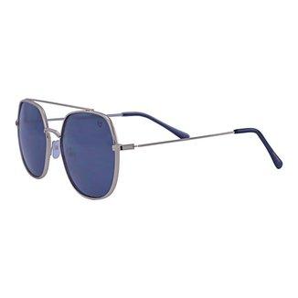 Óculos de Sol Mackage Unissex Metal Oversize - Dourado
