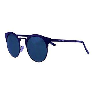 Óculos De Sol Mackage Unissex Metal Round - Preto/Verde G15