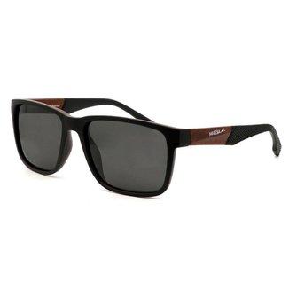 Óculos De Sol Maresia Sauipe C100 Marrom/Preto