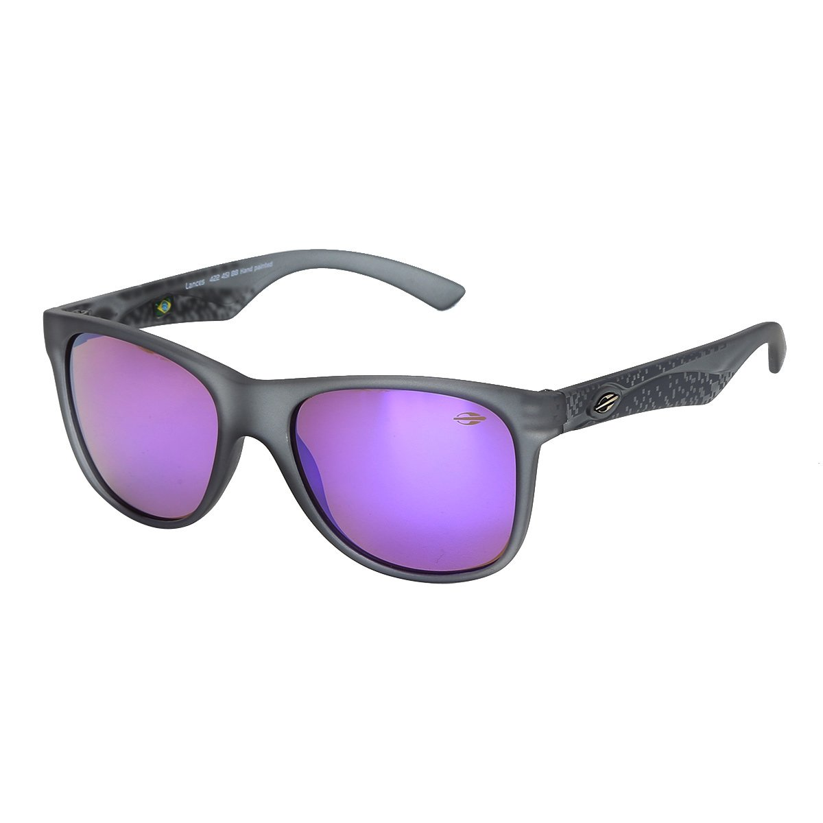 Óculos de Sol Mormaii Lances Fumê Fosco Masculino - Compre Agora ... f8baee7ebf