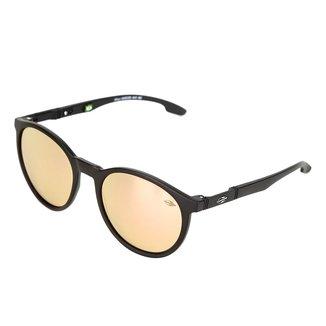 Óculos de Sol Mormaii Maui Fosco Revo Rose Gold Feminino
