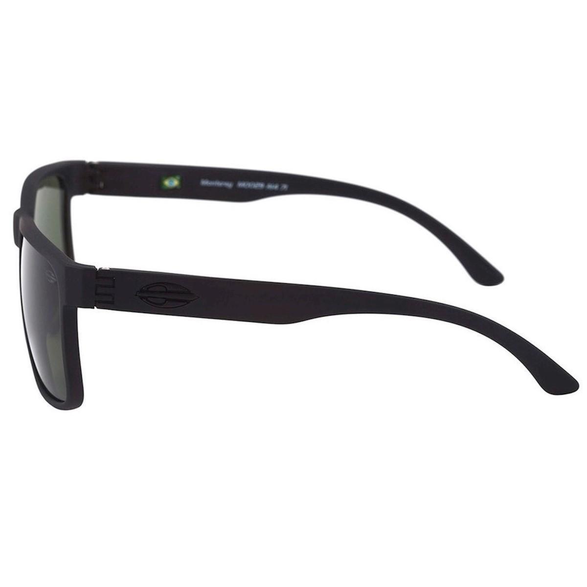 Óculos de Sol Mormaii Monterey Polarizado Fosco Masculino - Preto ... 1feb00f5d8