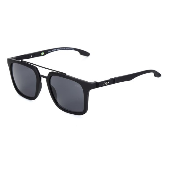 Óculos de Sol Mormaii Oahu Masculino M0086A1401 - Preto+Cinza