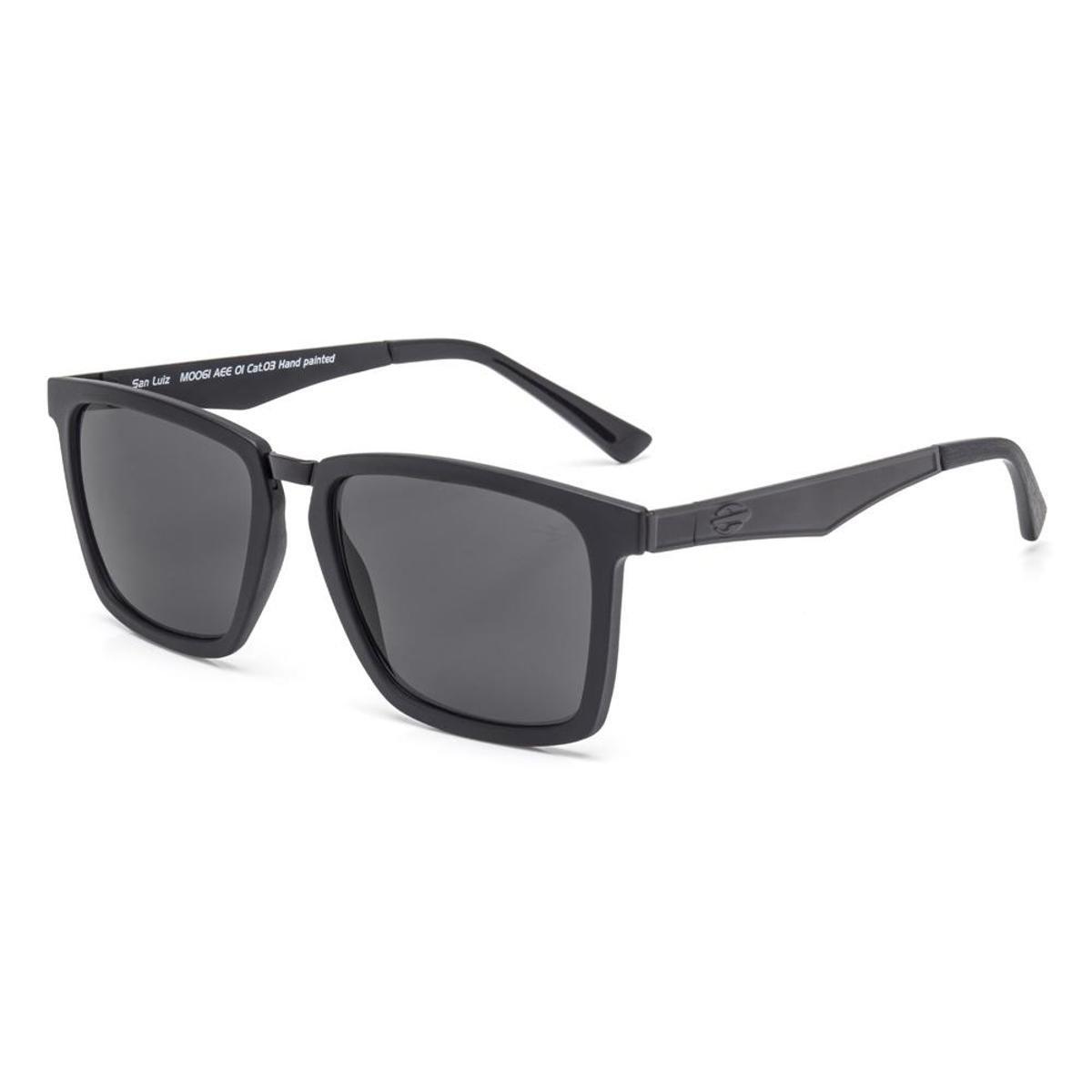 a51094483c3b3 Óculos De Sol Mormaii San Luiz - Preto - Compre Agora