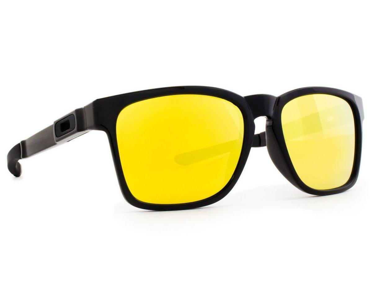 c7460c6b27c34 Óculos de Sol Oakley Catalyst OO9272 04-55 Masculino - Preto ...