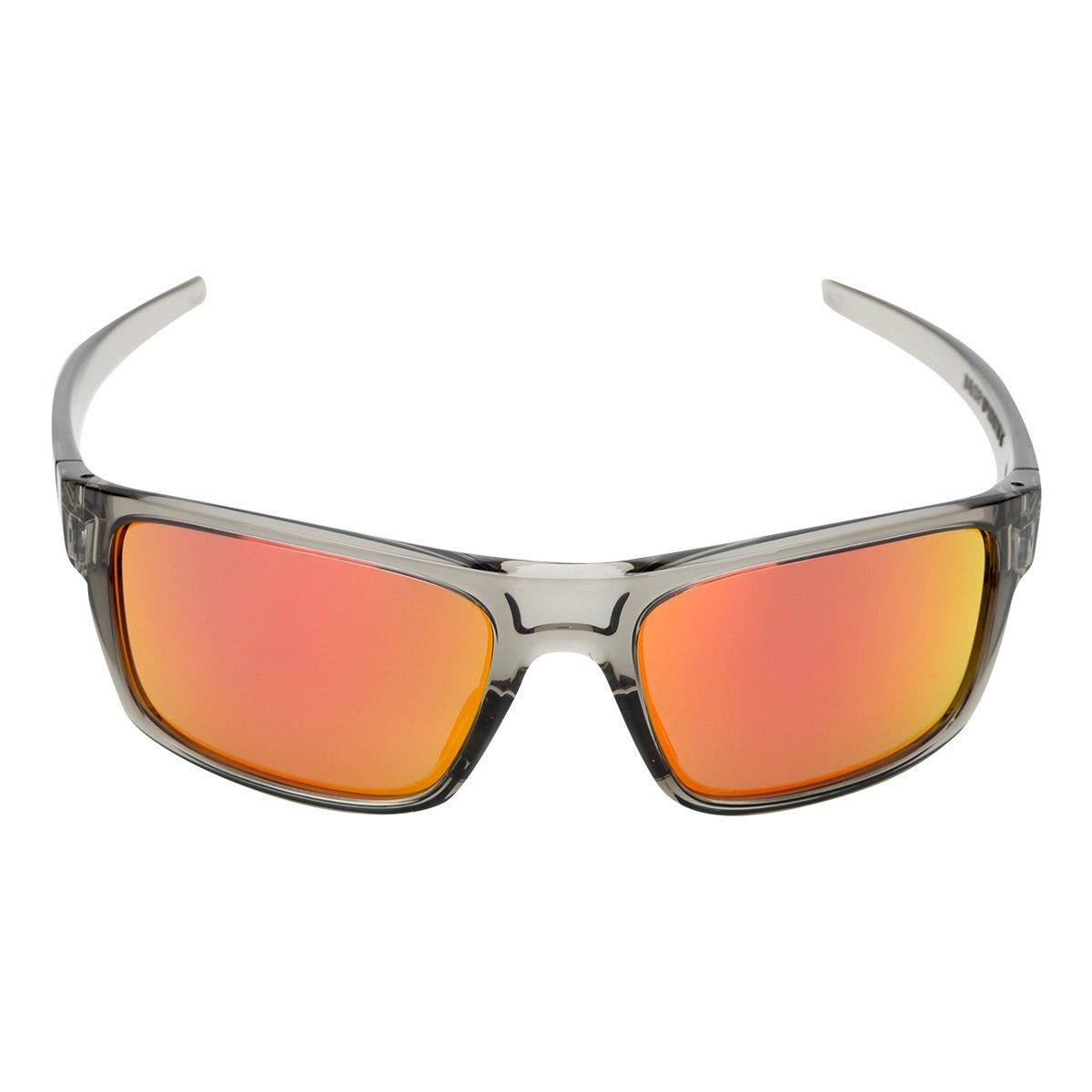 Óculos de Sol Oakley Drop Point Masculino - Cinza - Compre Agora ... 5cb72a4c85