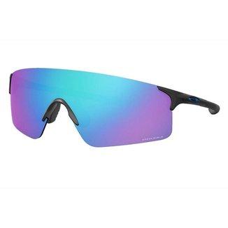 Óculos de Sol Oakley EVZERO Blades Steel W/ Prizm Sapphire