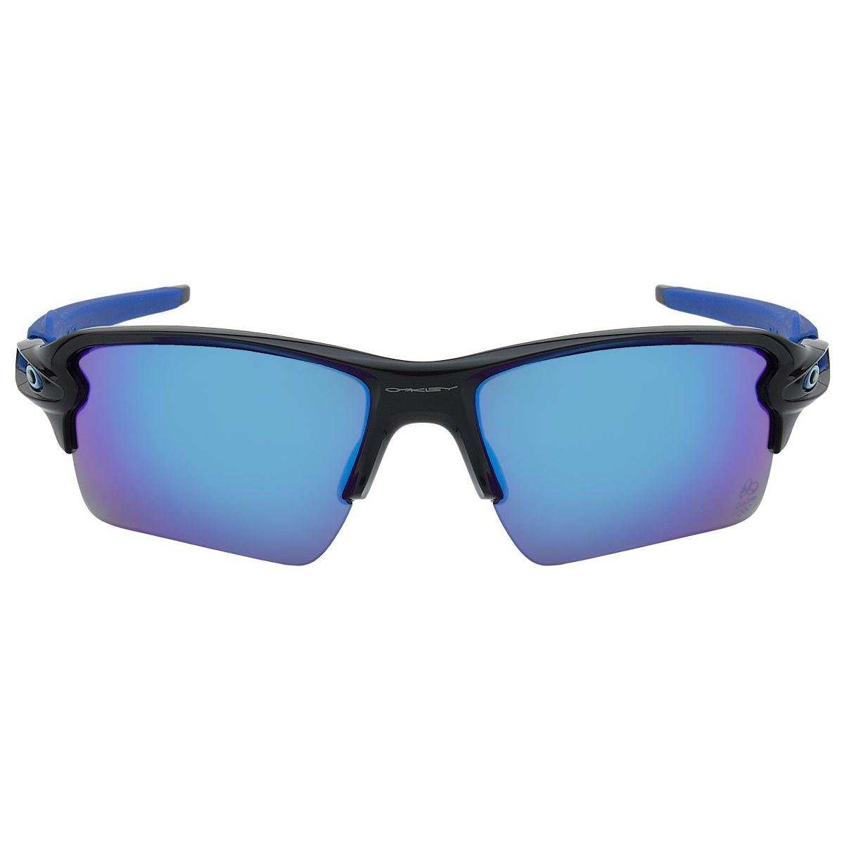 Óculos de Sol Oakley Flak 2.0 XL OO9188 - Polished Black - Sapphire Iridium  - 17 59 - Compre Agora  d839ab4f506