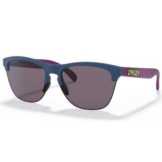 Óculos de Sol Oakley Frogskins Lite Matte Poseidon W/ Prizm Grey