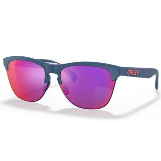 Óculos de Sol Oakley Frogskins Lite Matte Poseidon W/ Prizm Road