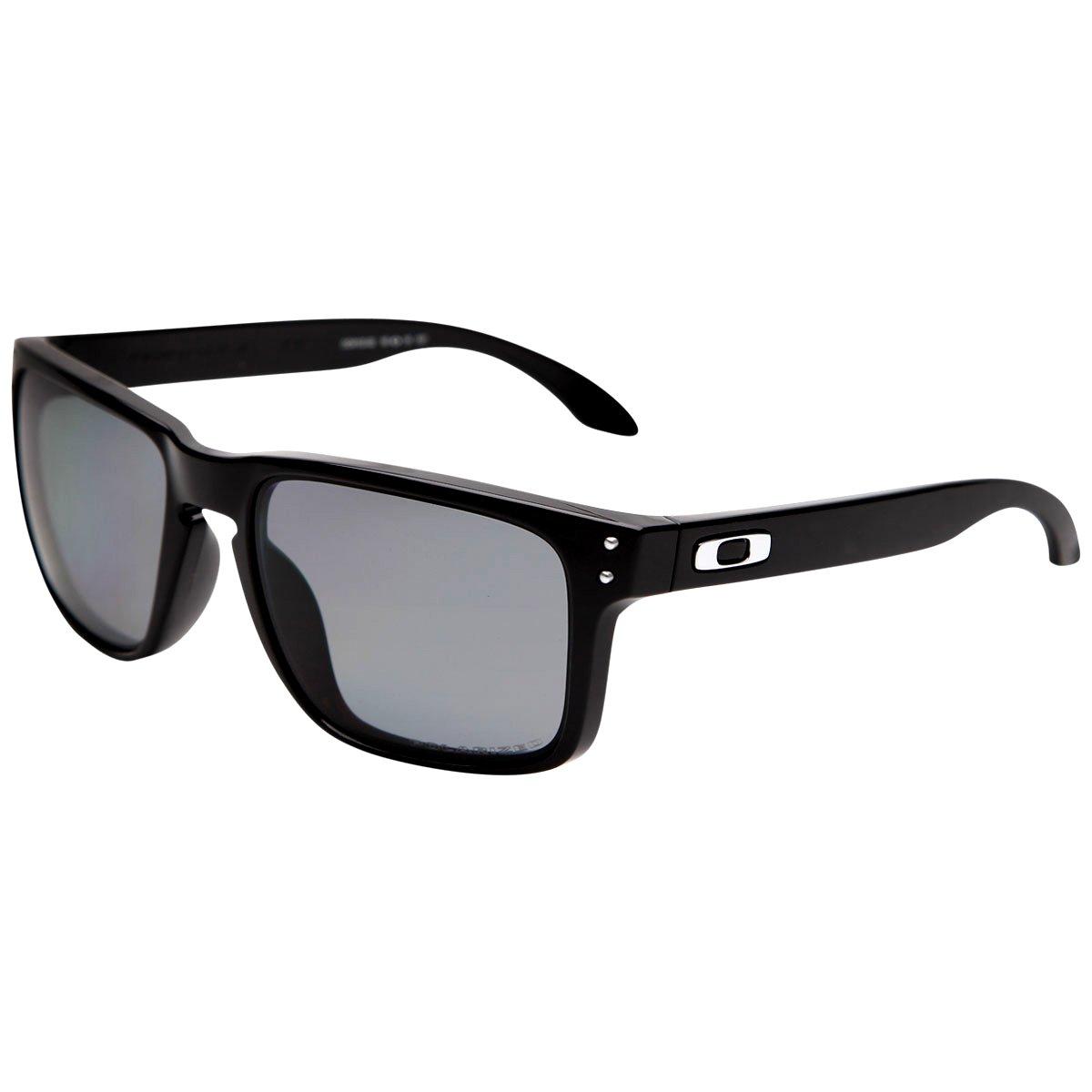 ... best price Óculos de sol oakley holbrook masculino preto 3978a f3da7  free shipping Óculos oakley mainlink preto polished com lentes prizm ... 4971c57ffd