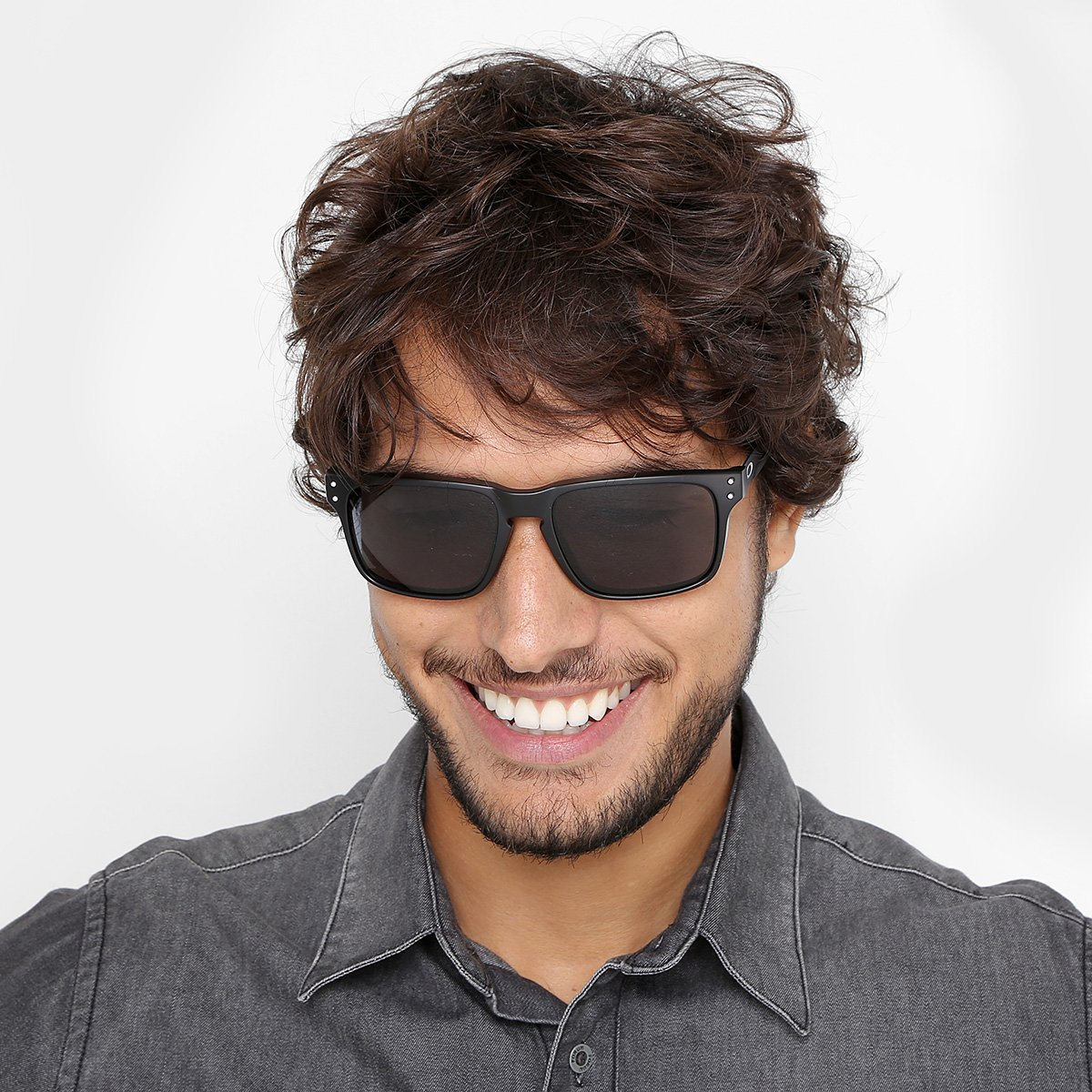 Óculos de Sol Oakley Holbrook Mix - Preto - Compre Agora   Netshoes bba0e30287