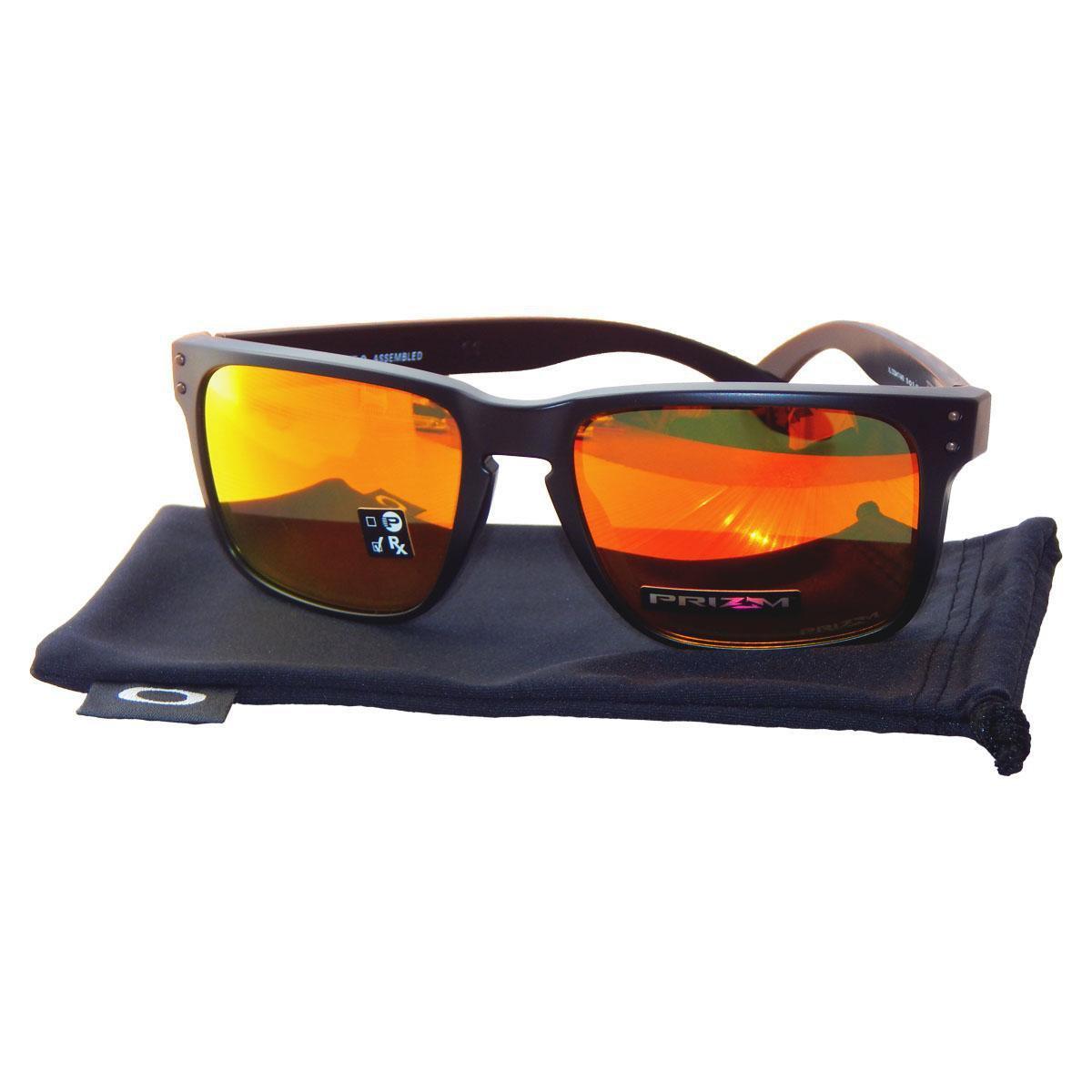 ... Óculos de Sol Oakley Holbrook XL OO9417 - Matte Black - Prizm Ruby -  04  ... 3daefc9354
