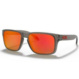 Óculos de Sol Oakley Holbrook XS Matte Grey Ink W/ Prizm Ruby