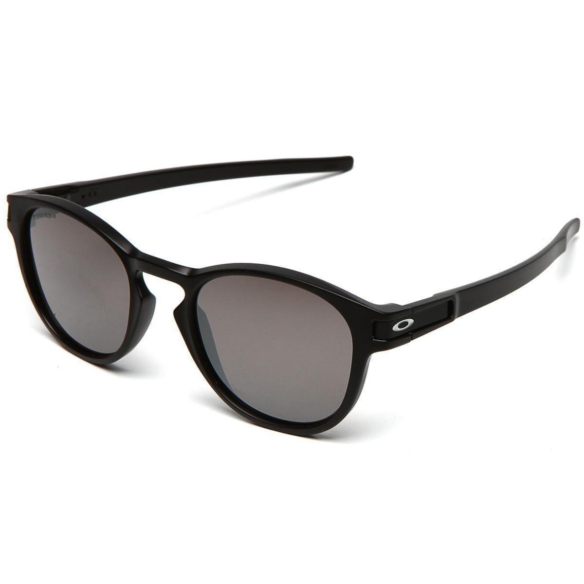 Óculos de Sol Oakley Latch M. Prizm Iridium Masculino - Preto ... 6a193fa6b8