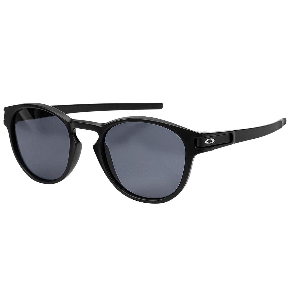 d1d56d21bdb54 Óculos de Sol Oakley Latch Masculino - Preto e Cinza - Compre Agora ...