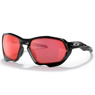 Óculos de Sol Oakley Plazma Black Ink W/ Prizm Trail Torch