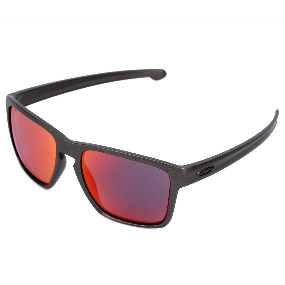 2a2aae213676e Óculos de Sol Oakley Sliver Xl Masculino - Cafe - Compre Agora ...