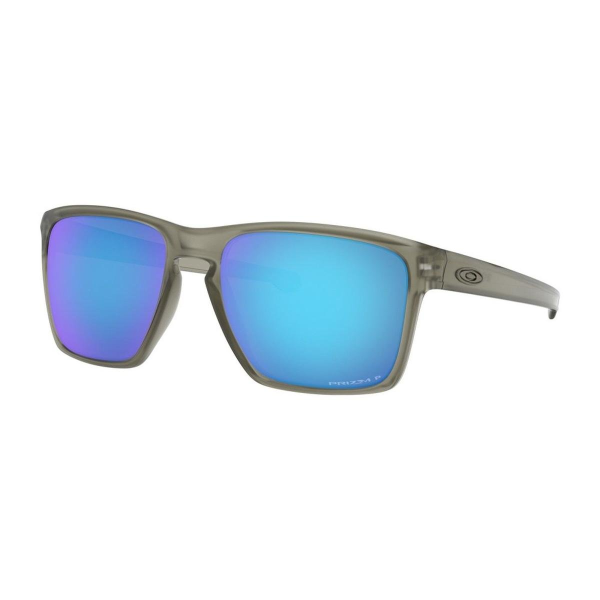 386cd39286d4a Óculos de Sol Oakley Sliver XL OO9341 - Matte Grey Ink - Prizm Sapphire  Polarized - 18 57 - Preto e Dourado - Compre Agora