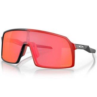 Óculos de Sol Oakley Sutro Matte Black Redline W/ Prizm Trail Torch