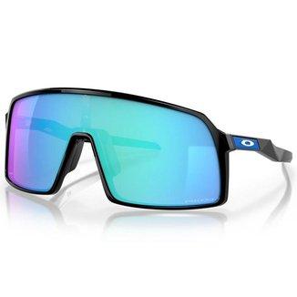 Óculos de Sol Oakley Sutro Polished Black W/ Prizm Sapphire