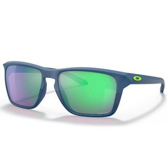 Óculos de Sol Oakley Sylas Half Matte Poseidon W/ Prizm Road Jade