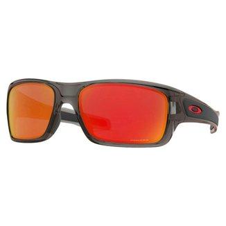 Oculos de Sol Oakley Turbine XS Júnior Grey Smoke Prizm Ruby
