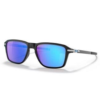 Óculos de Sol Oakley Wheel House Polished Black W/ Prizm Sapphire Polarized